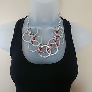 Women's Silver Accent Necklace